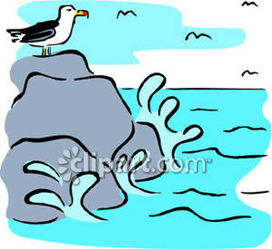 On the rocks clipart - Clipground