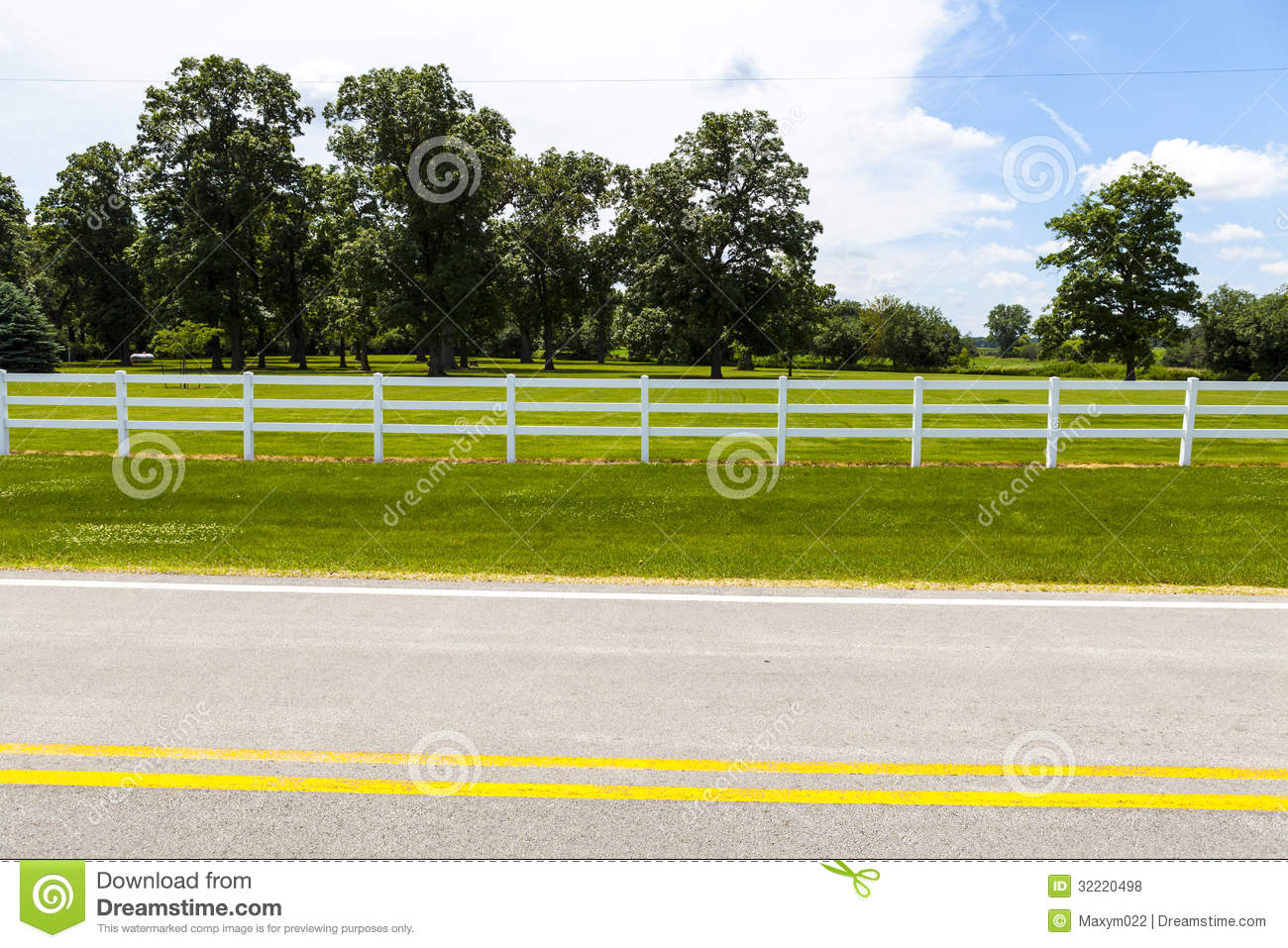 Road Side View Clipart.
