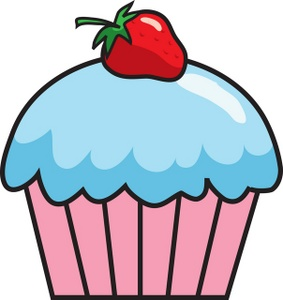 Cupcake Clipart Image.