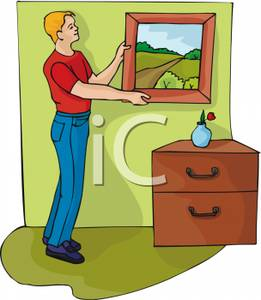 Painting Wall Clipart.