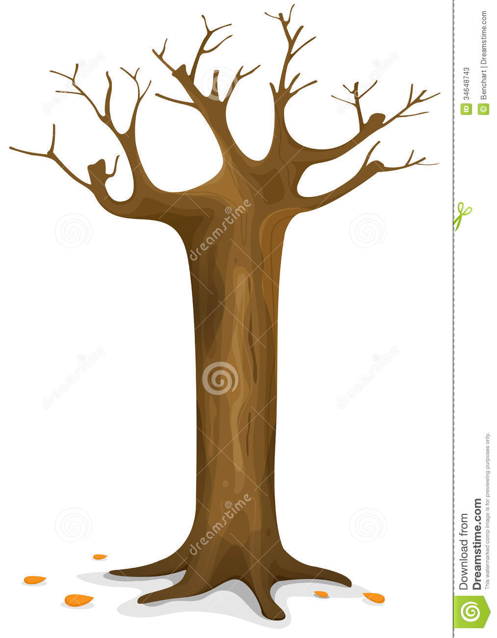 Tree Trunk Clipart.