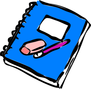 notebook clipart png #17