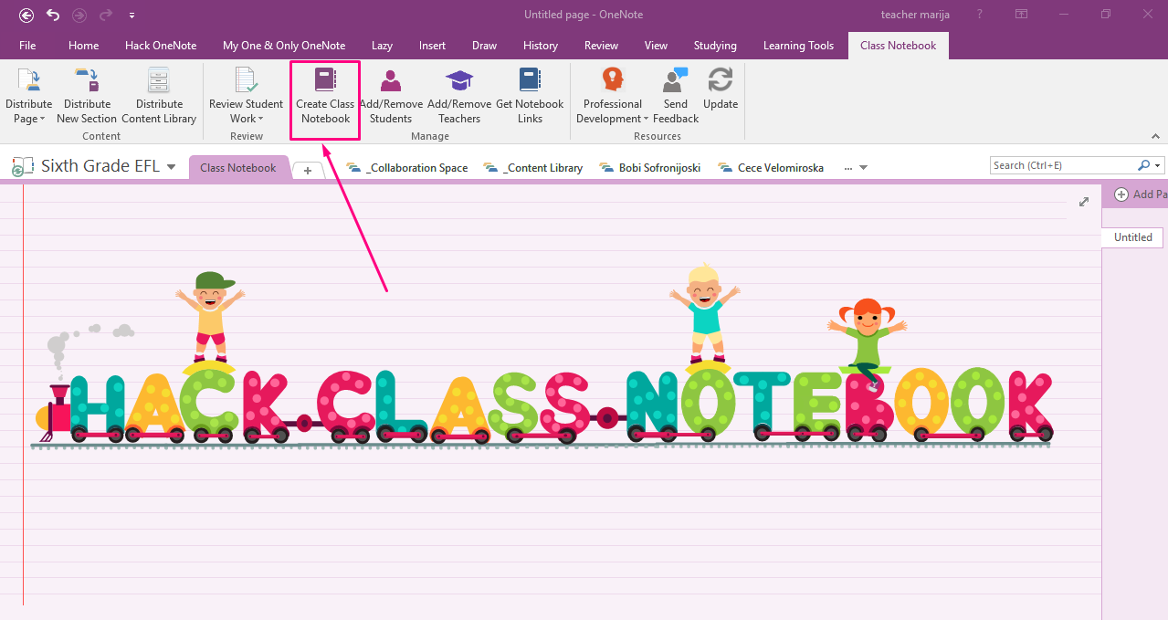 OneNote Class Notebook is the top app in my classroom.