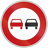 Clip Art of Oncoming Traffic Has Priority k24770302.