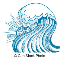 Tidal wave Stock Illustrations. 907 Tidal wave clip art images and.