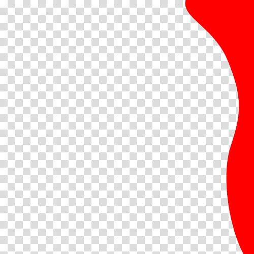 Ondas, red border transparent background PNG clipart.