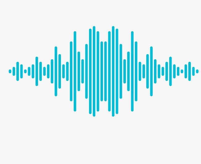 Vector Rectangular Sound Wave Curve Png Picture, Audio.