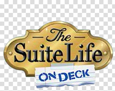 DC tv Show logo s, The Suite Life On Deck signage.