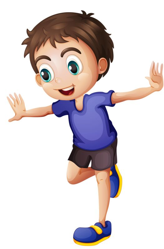 Jump clipart one child.