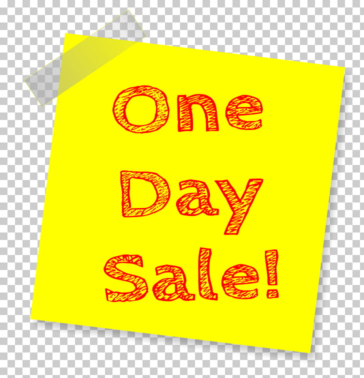 Morris Sales, Sale Sticky Note, One Day Sale sign PNG.