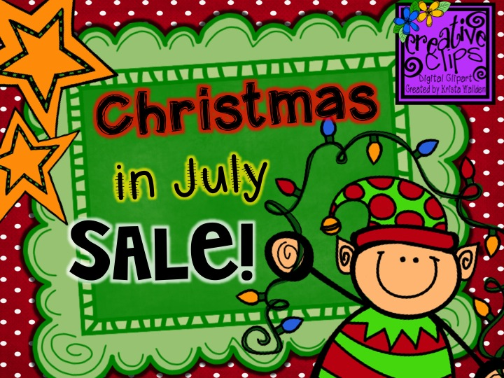The Creative Chalkboard: ONE DAY SALE! Happy Christmas in July!.
