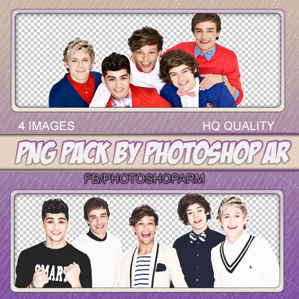 One Direction PNG pack ( PhotoShopAR ) by BlueChocoBunny on.