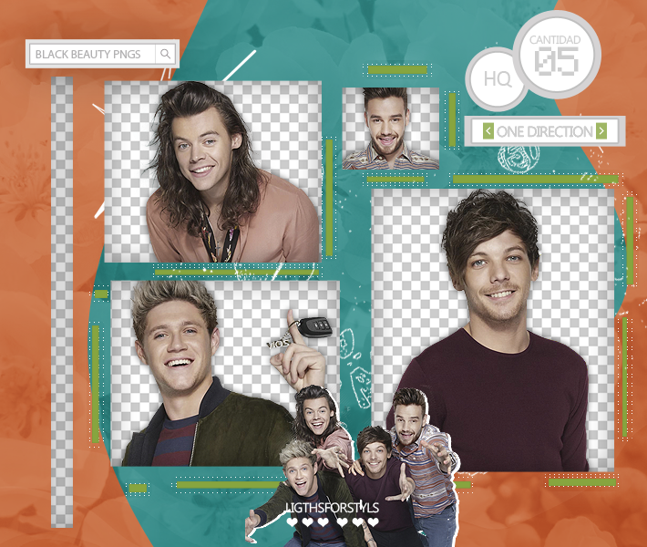 Pack Png #118 // One Direction by BlackBeautyPngs on DeviantArt.