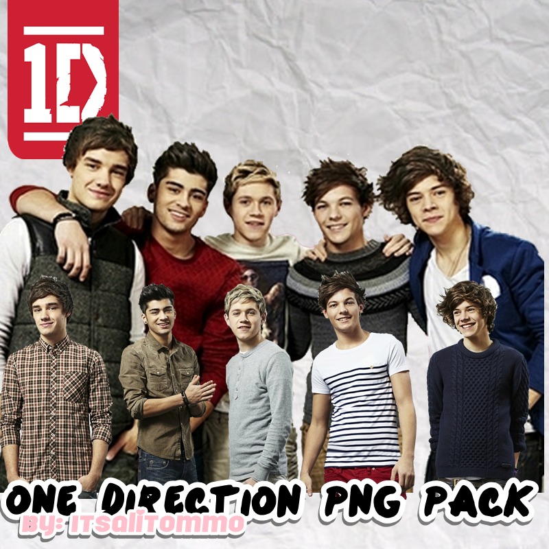 One Direction PNG Pack by itsalitommo on DeviantArt.