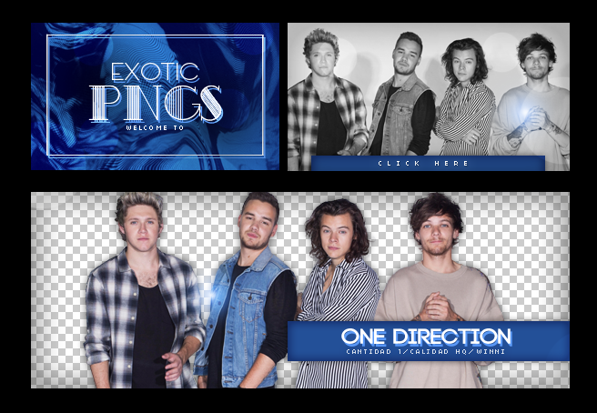 Pack Png 554 // One Direction. by ExoticPngs on DeviantArt.