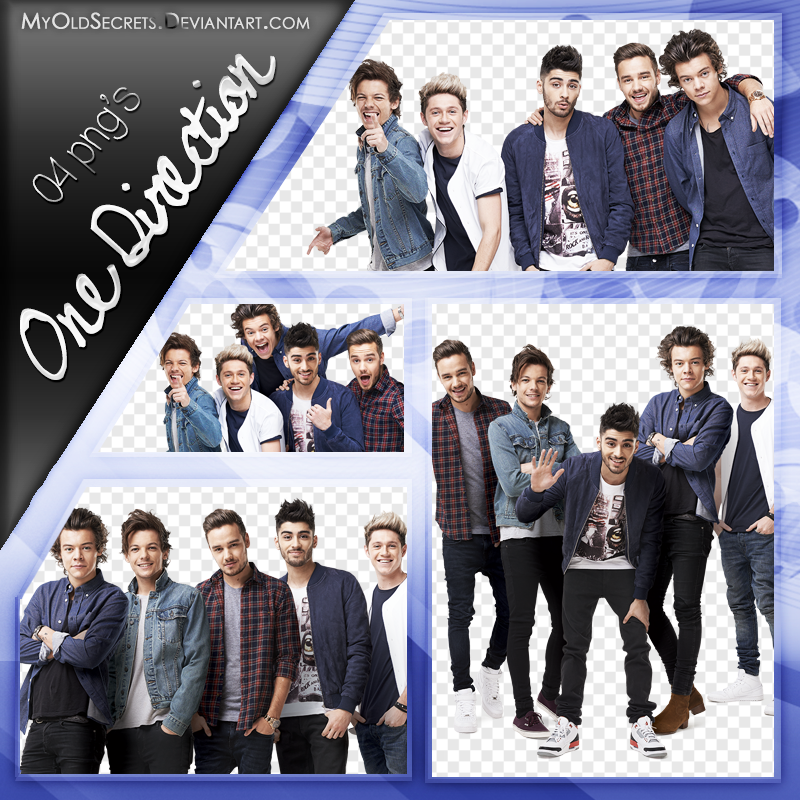 One Direction PNG Pack by MyOldSecrets on DeviantArt.