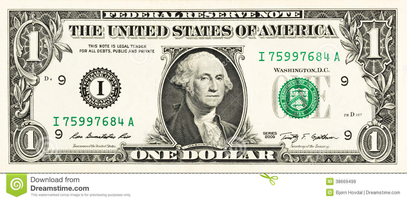Dollar bill background clipart.