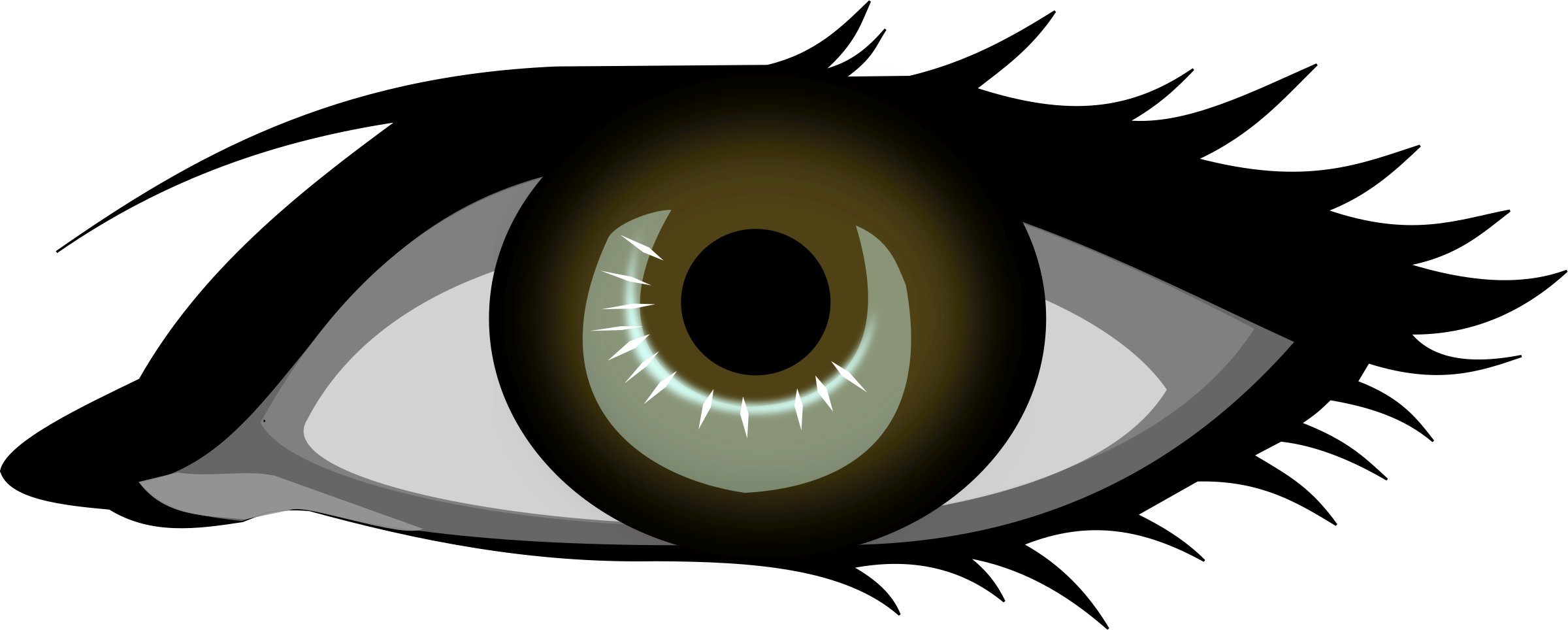 Blue Eyes Clipart Blind Eye.
