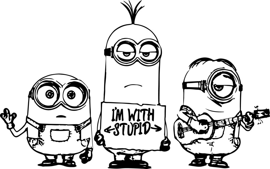 Despicable Me Minion Clip Art.