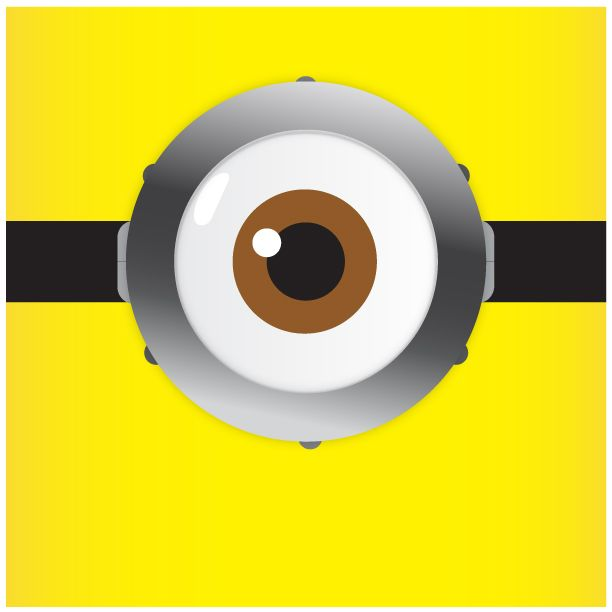 image relating to Minion Eyes Printable identify a person eye minion clipart black and white 20 free of charge Cliparts