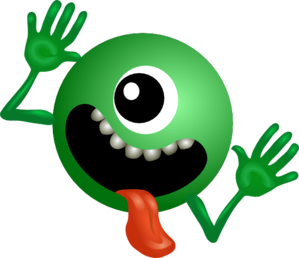 One Eyed Alien Clip Art at Clker.com.