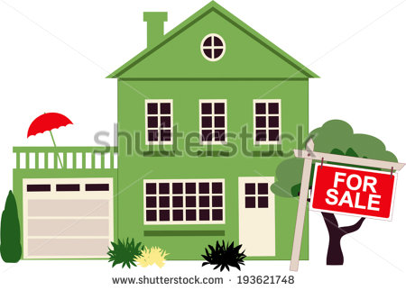 One Story House Stock Images, Royalty.