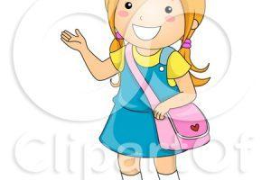One girl clipart 1 » Clipart Portal.