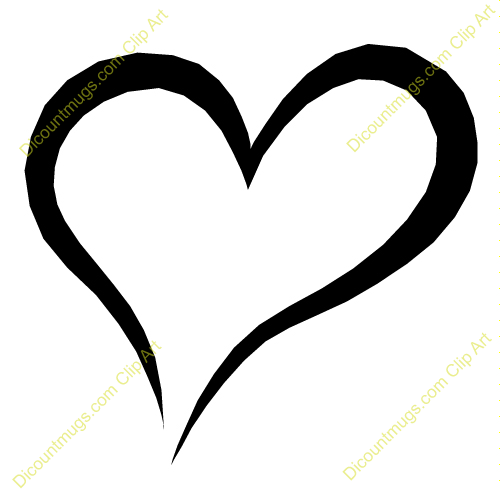 One heart clipart 2 » Clipart Station.
