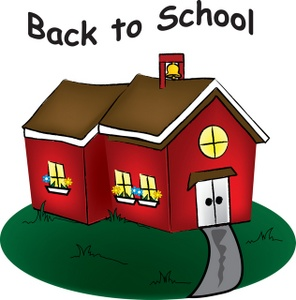 School House Clipart Image.