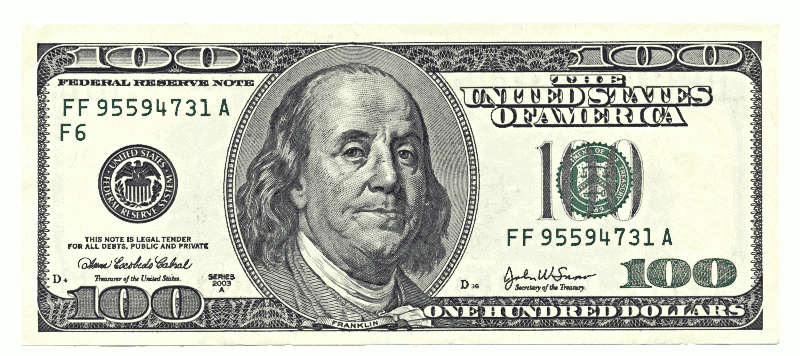 Dollars clipart 100 dollar, Dollars 100 dollar Transparent.