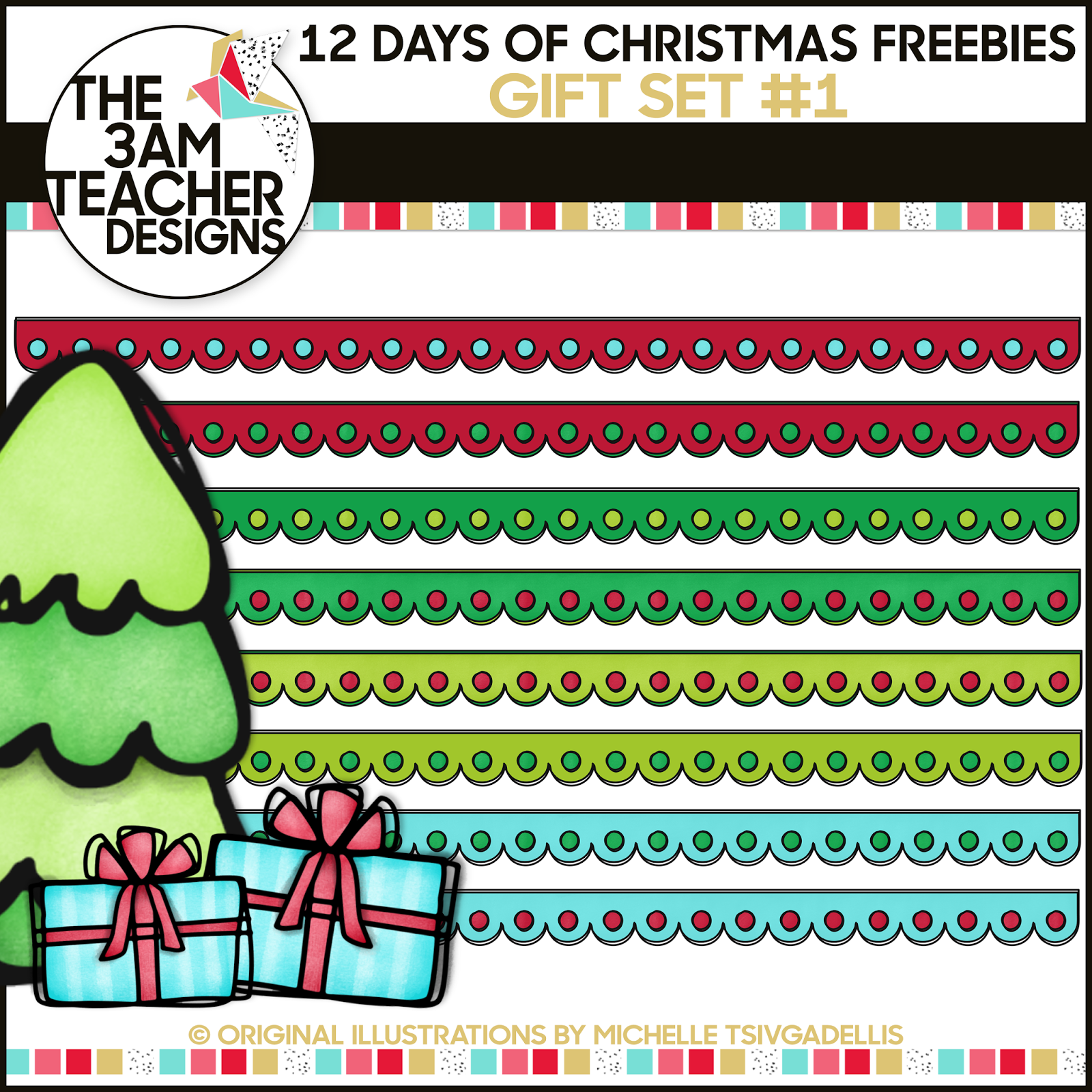 The 3am Teacher: 12 Days of Christmas Freebies: Last Chance.