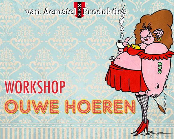 AMS Laughs @ Workshop with 'Ouwehoeren'.