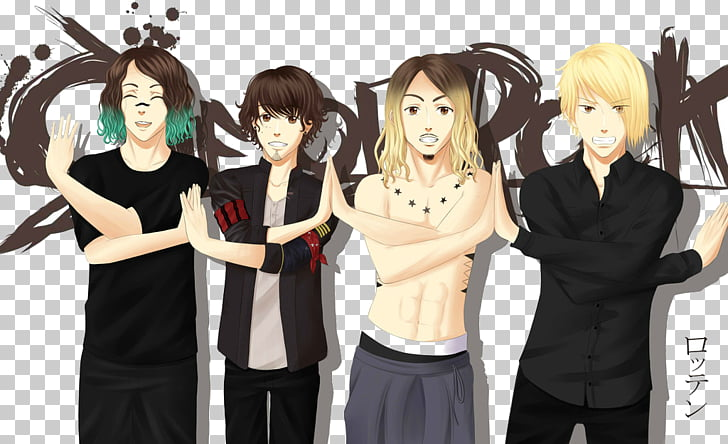 ONE OK ROCK Anime Japanese rock Chibi, one ok rock PNG.