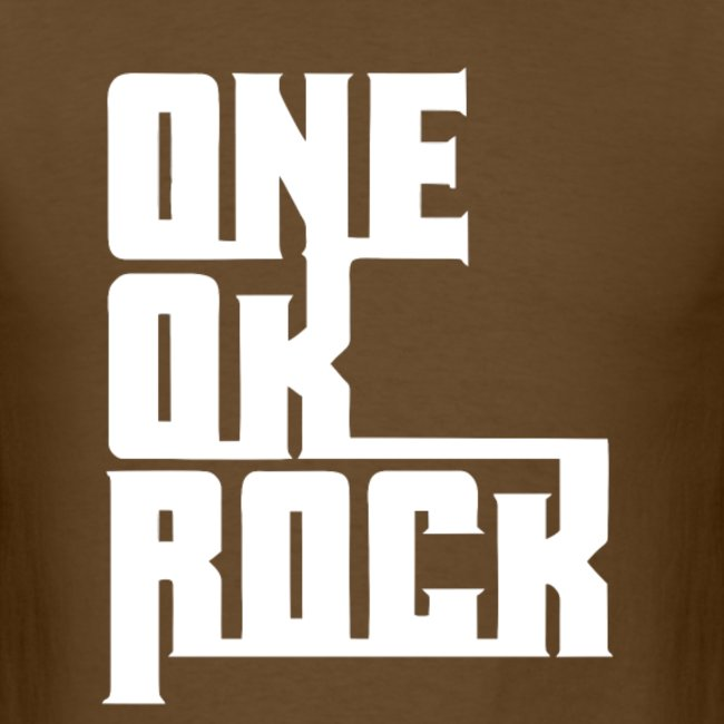 ONE OK ROCK LOGO (White).