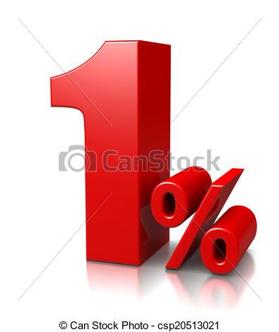 1 percent Illustrations and Stock Art. 277 1 percent illustration.