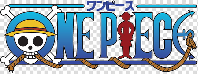 Logo One Piece, One Piece label transparent background PNG.