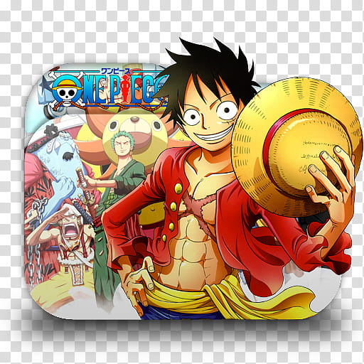 One Piece Anime Folder Icon, One Piece transparent.