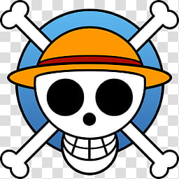 One Piece Jolly Roger Dock and Folder Icons by, New World.