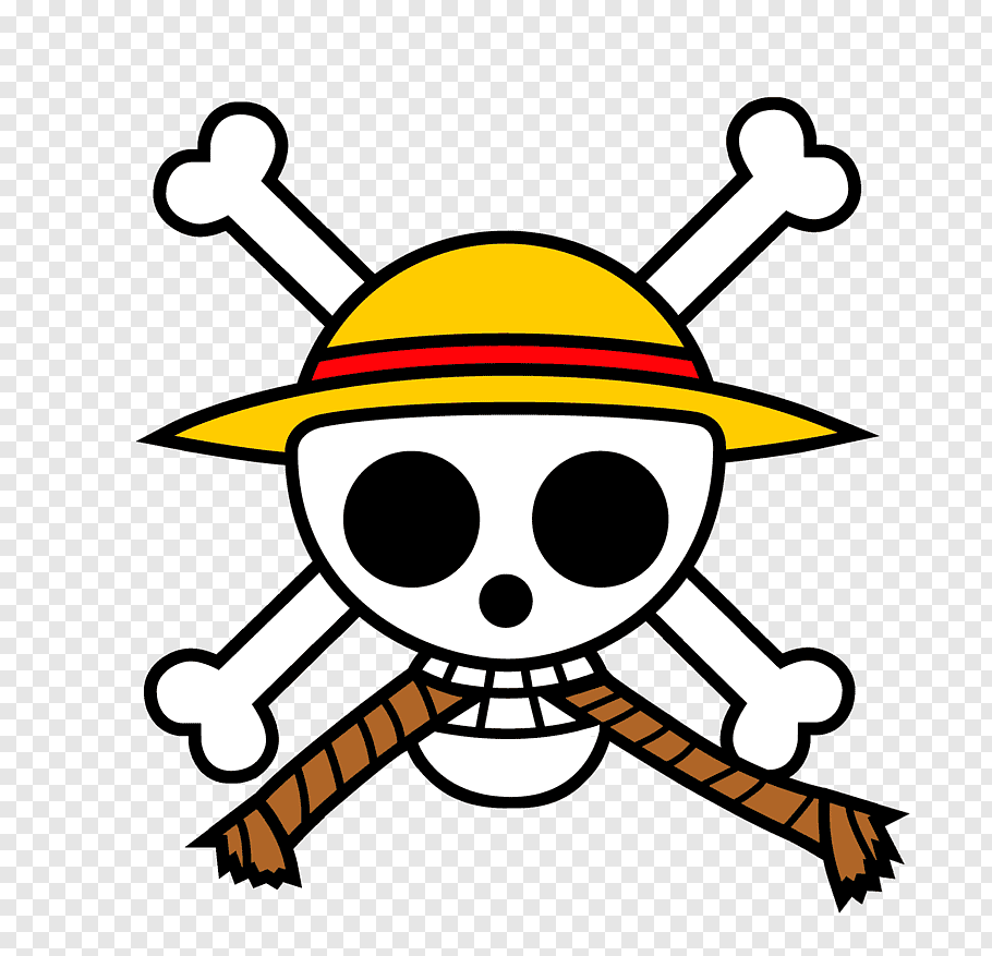 One Piece Strawhat Pirates logo, Monkey D. Luffy List of One.