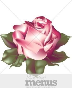Red Rose Menu Templates.