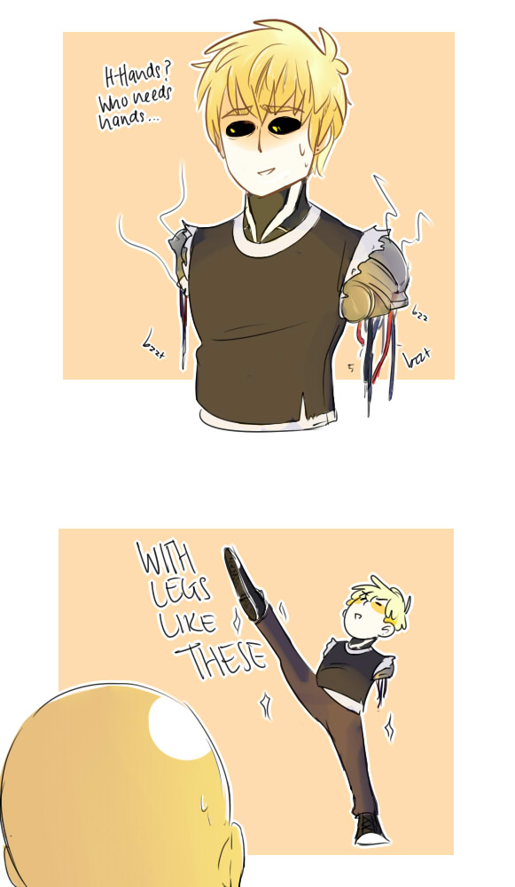 Genos in every fight.