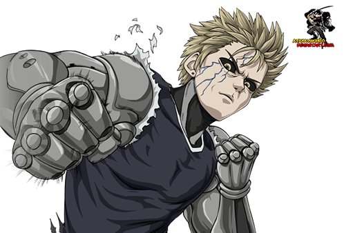 One Punch Man Genos Clipart.