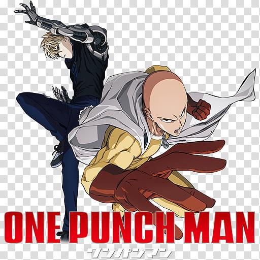 One Punch Man Icon v, One Punch Man v transparent background.
