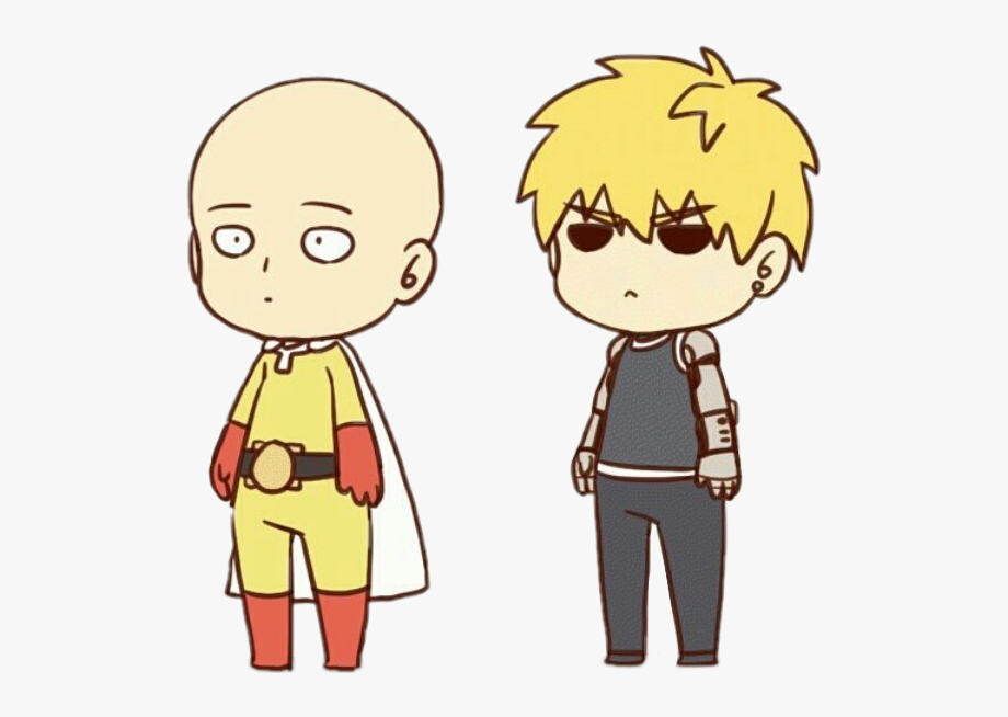 Anime One Punch Man Clipart.