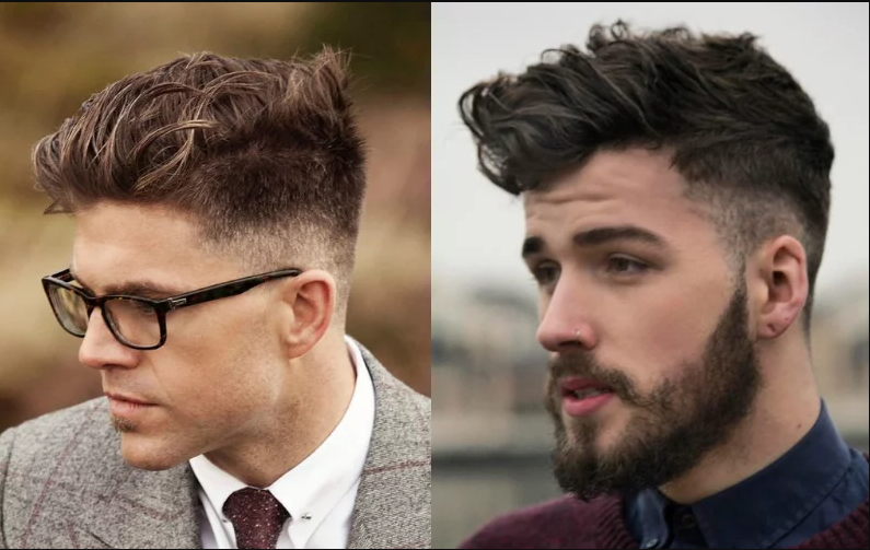 10 Hairstyles Will Suit Men with Oval Faces.