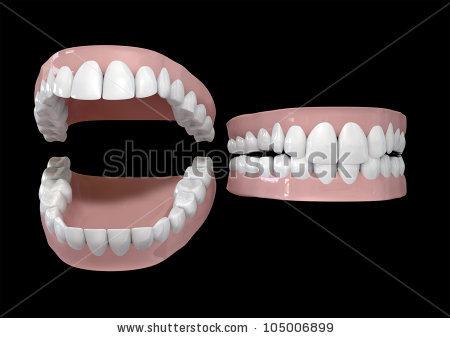 Human Teeth Stock Photos, Royalty.