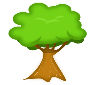 Tree clipart for kids.