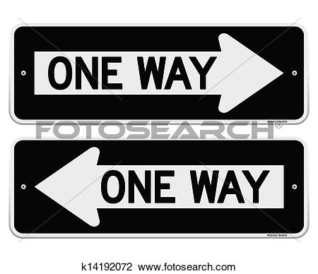 One way Clipart Illustrations. 1,121 one way clip art vector EPS.