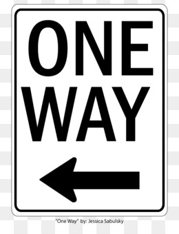 One Way Sign PNG and One Way Sign Transparent Clipart Free.