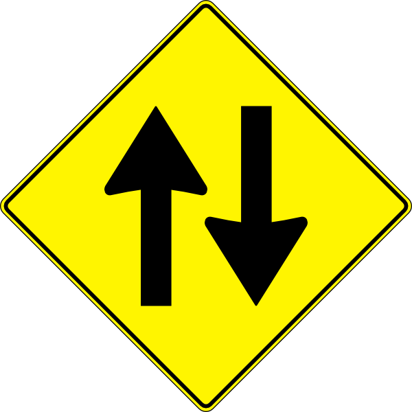 Which Way Sign Clipart.